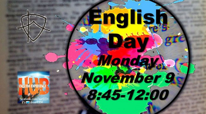 English Day Was Moved!
