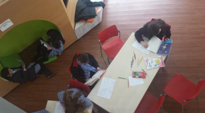 5th Graders Begin New Reading Club